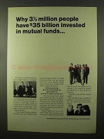 1966 Ivestment Company Institute Ad - Mutual Funds