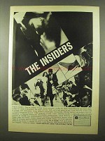 1966 Carte Blanche Card Ad - The Insiders