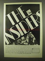 1966 Carte Blanche Card Advertisement - The Insiders