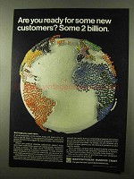 1966 Manufacturers Hanover Trust Ad - New Customers