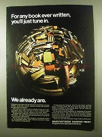 1966 Manufacturers Hanover Trust Ad - Any Book Written