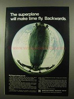 1966 Manufacturers Hanover Trust Ad - The Superplane