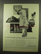 1966 Frontier Airlines Ad - Denver Trip Unconventional