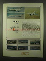 1966 UOP Universal Oil Products Ad - Pick a Jet