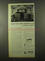 1966 Piper Cherokee Plane Ad - Your Next Business Trip