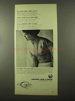 1966 Japan Air Lines Ad - World's Oldest Flight Uniform