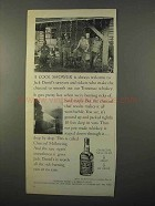 1966 Jack Daniel's Whiskey Ad - A Cool Shower