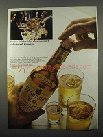 1966 Seagram's V.O. Whisky Ad - A Little Bit Richer