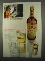 1966 Seagram's V.O. Whisky Ad - Come for The Weekend