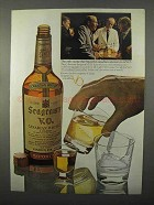 1966 Seagram's V.O. Whisky Ad - The Smooth Canadian