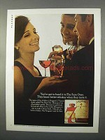 1966 Seagram's 7 Crown Whisky Ad - The Sure Ones