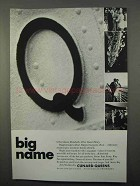 1966 Cunard Queen Cruise Ad - Big Name