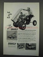 1966 Gravely Super Tractor with Rider Ad - Under Hood
