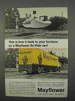 1966 Mayflower Transit Ad - Air-Ride Van