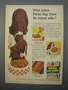 1966 Purina Dog Chow Ad - The Largest Seller