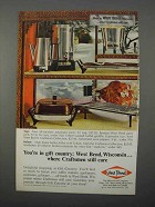 1966 West Bend Ad - Automatic Perk, Party Perk, Griddle