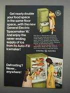 1966 General Electric Model TCF-19C Refrigerator Ad