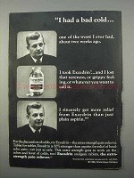 1966 Excedrin Tablets Ad - I Had A Bad Cold