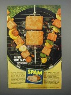 1966 SPAM Meat Ad - Easiest Meat In All Outdoors