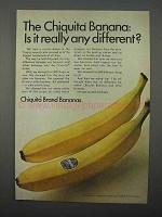 1966 Chiquita Bananas Ad - Is it Really Any Different?