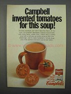 1966 Campbell's Tomato Soup Ad - Invented Tomatoes