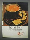 1966 Campbell's Tomato Soup Ad - Late Late Snack