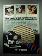 1979 Polaroid SX-70 Camera Ad - in German