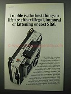 1967 Polaroid Color Pack Cameras Ad - Best in Life
