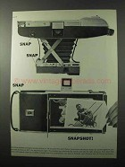 1961 Polaroid Land Camera Ad - Snap Snap Snapshot