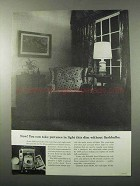1960 Polaroid 3000-Speed Film Ad - Light This Dim
