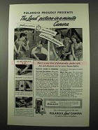 1949 Polaroid Land Camera Ad - Picture-in-a-Minute