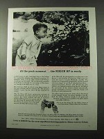 1959 Nikon SP Camera Ad - At the Peak Moment