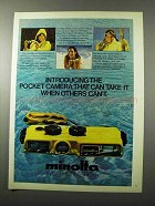 1980 Minolta Weathermatic-A Camera Ad - Can Take It