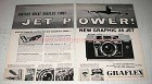 1961 Graflex Graphic 35 Jet Camera Ad - Another First