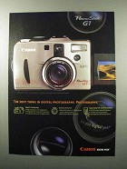 2000 Canon PowerShot G1 Camera Ad - The Next Thing