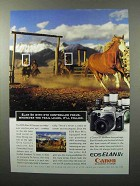 1997 Canon EOS Elan IIe Camera Ad - Eye Controlled