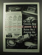 1959 Canon VI Camera Ad - On All Counts