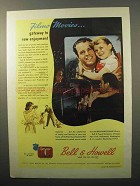 1944 Bell & Howell Filmosound Movie Projector Ad