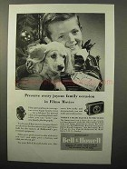 1946 Bell & Howell Filmo Movies Ad - Joyous Occasion