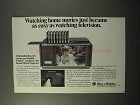 1973 Bell & Howell Double Feature Projector Ad