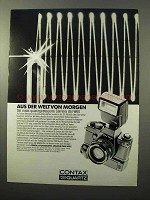 1979 Contax 139 Quartz Camera Ad - in German