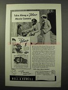 1939 Bell & Howell Filmo Movie Cameras Ad - Take Along