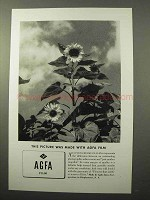 1936 Agfa Film Ad - This Picture Was Made With