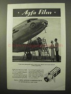 1935 Agfa Film Ad - Eastern Air Lines