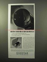 1970 Questar Seven-Inch Telescope Ad - Big with R&D