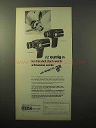 1970 Eumig Viennette 5 and Viennette 8 Movie Cameras Ad