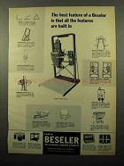 1964 Beseler 45MCR-X Enlarger Ad - The Best Feature