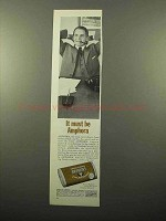 1963 Amphora Tobacco Ad - It Must Be Amphora