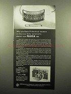 1963 Fujica 35EE Camera Ad - 19 Electrical Resistors