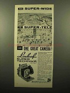 1961 Linhof Super Technika Camera Ad - Super-Wide